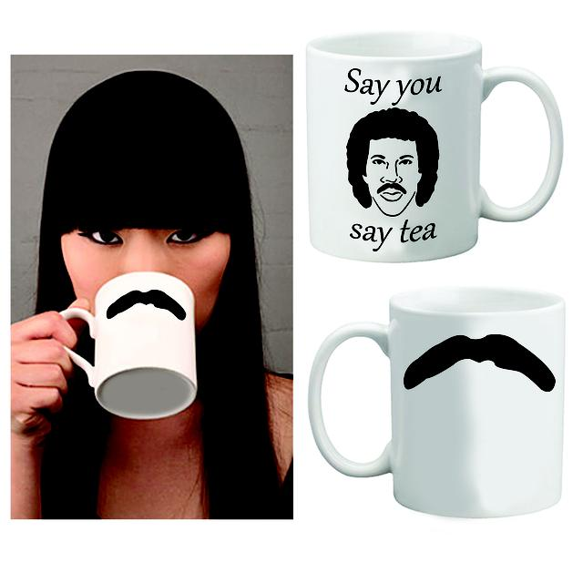 Lionel Richie Say You Say Tea Mug