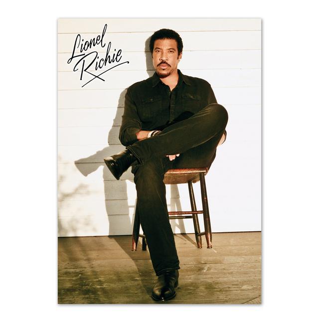 Lionel Richie Sitting Poster