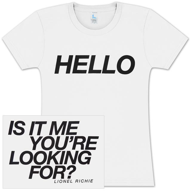 Lionel Richie Hello Ladies T-Shirt