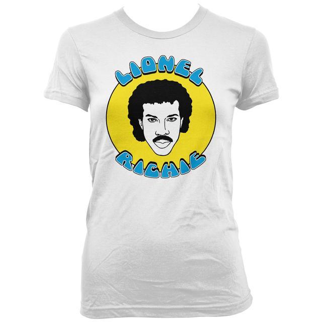 Lionel Richie All Night Cartoon Ladies T-Shirt