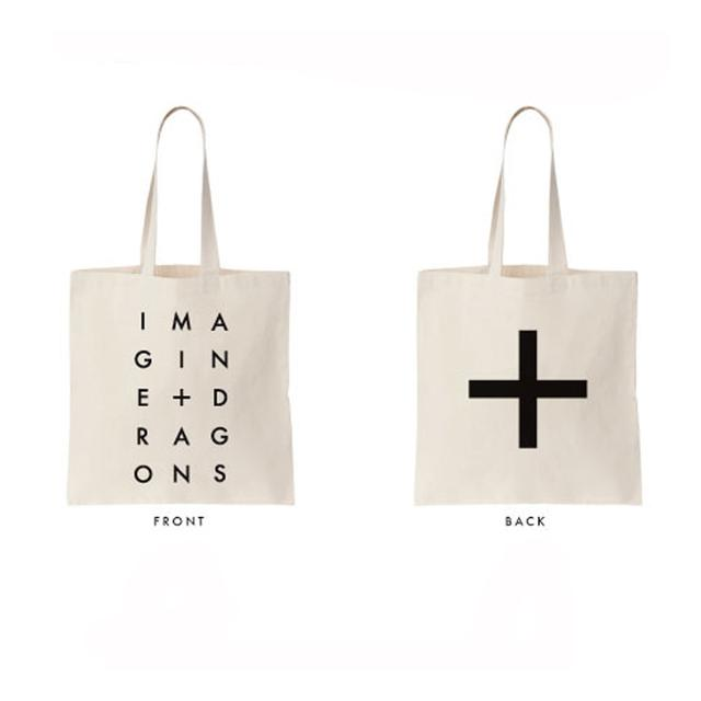 Imagine Dragons Stack Letters Tote