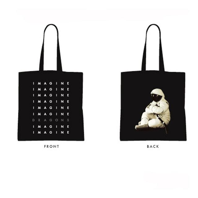 Imagine Dragons Stacked Logo Moon Tote