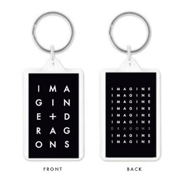 Imagine Dragons Stacked Logo Keychain