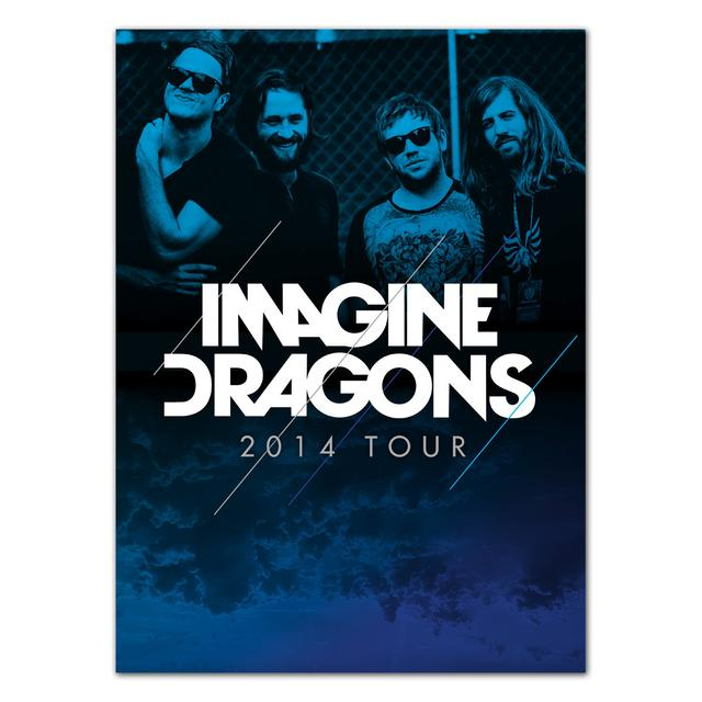 Imagine Dragons 2014 Tour Program