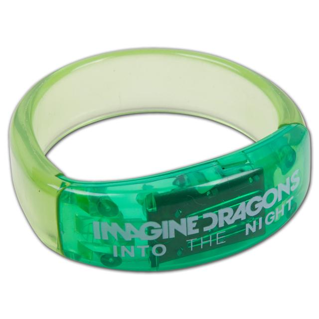 Imagine Dragons Blinking LED Bracelet - green