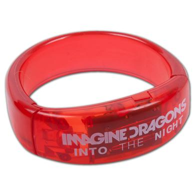 Imagine Dragons Blinking LED Bracelet - red