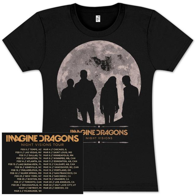 Imagine Dragons Moon Jr Tour T-Shirt