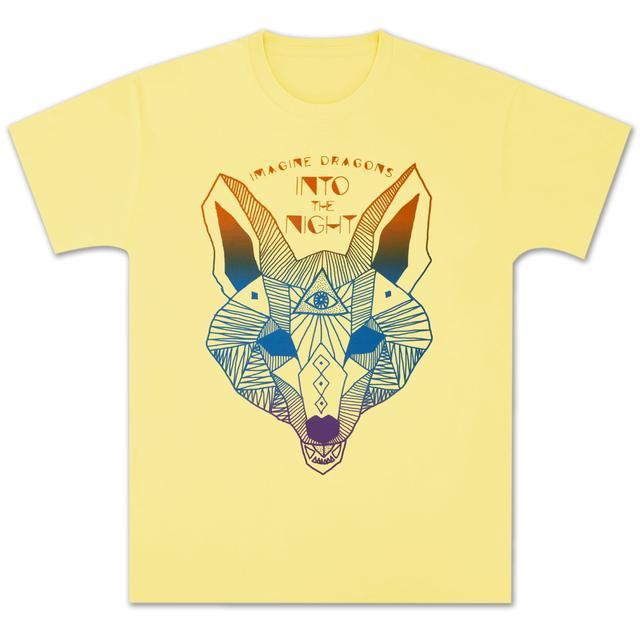 Imagine Dragons Wolf Yellow T-Shirt