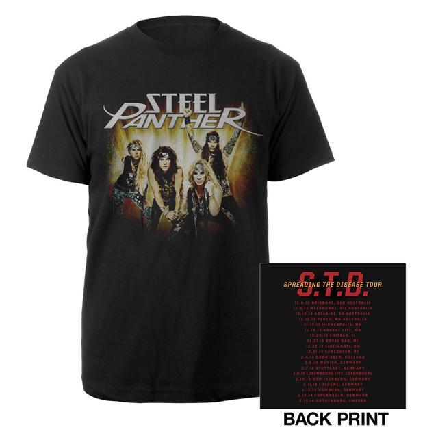 Steel Panther STD Photo Tour Shirt