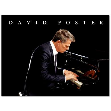 "David Foster Piano 18x24"" Poster"