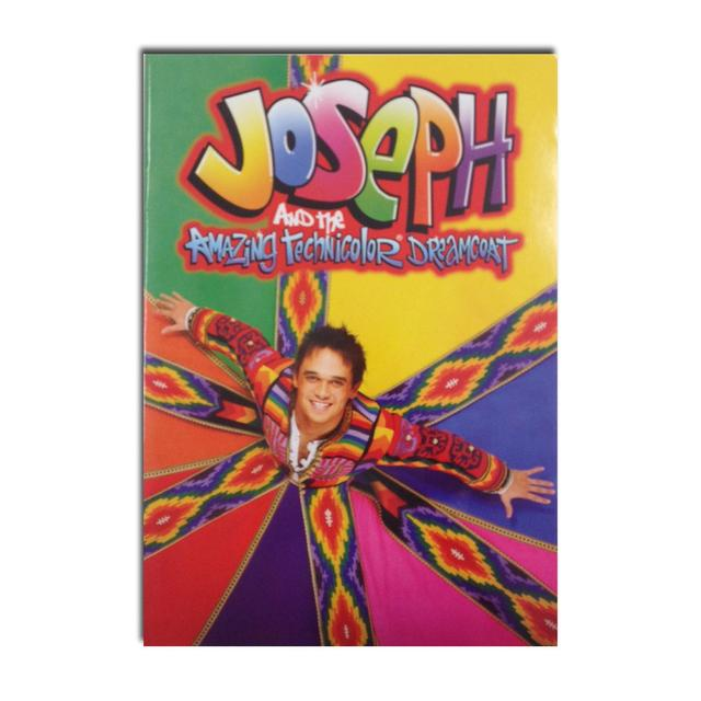 Joseph And The Amazing Technicolor Dreamcoat Joseph Souvenir Brochure - Gareth Gates Edition