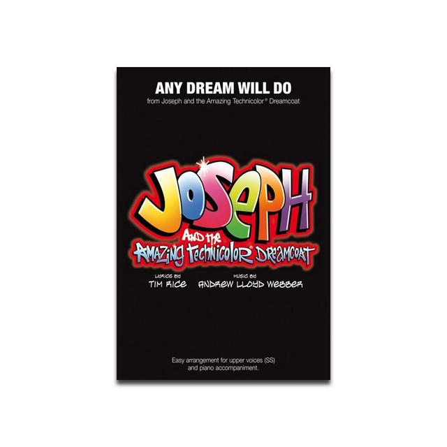 Joseph And The Amazing Technicolor Dreamcoat Joseph Single Sheet Music - Any Dream Will Do