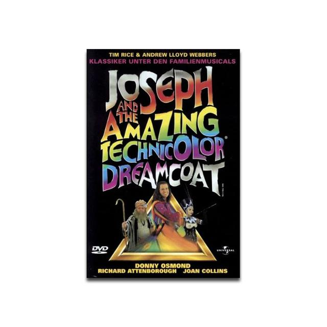 Joseph And The Amazing Technicolor Dreamcoat Joseph Movie starring Donny Osmond - Region 2