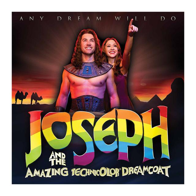 Joseph And The Amazing Technicolor Dreamcoat Joseph Souvenir Brochure - Starring Diana Degarmo and Ace Young