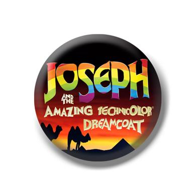 Joseph and the Amazing Technicolor Dreamcoat North America Tour Button