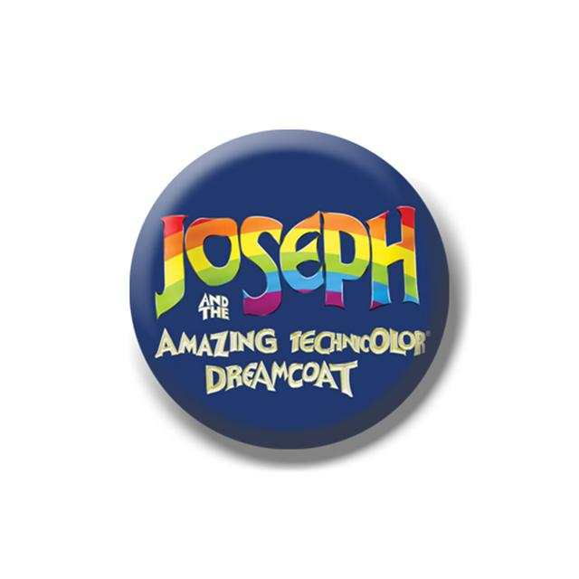 Joseph and the Amazing Technicolor Dreamcoat 2014 Logo Button