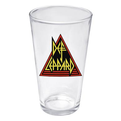 Rock Of Ages Def Leppard Pint Glass