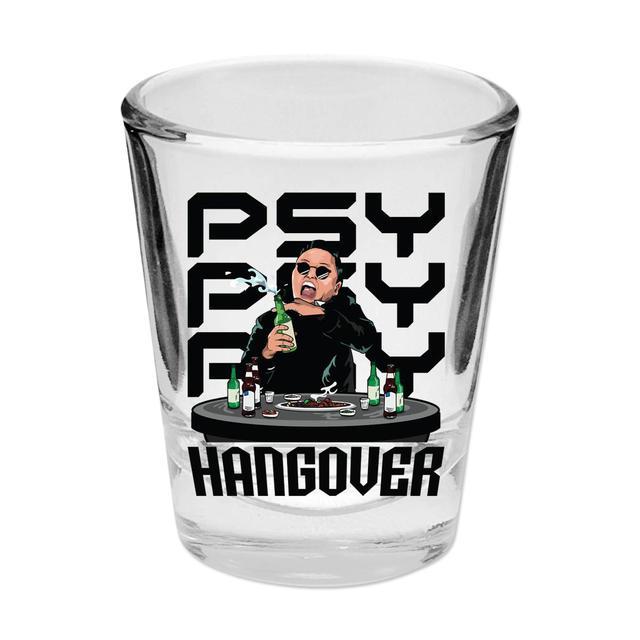 Psy Hangover Shotglass