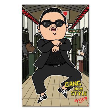 Psy Animated Poster