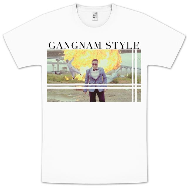 PSY Gangnam Explosion Slim T-Shirt