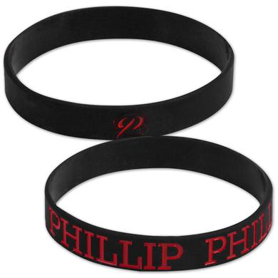Phillip Phillips P2 Rubber Bracelet