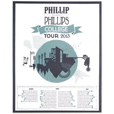 Phillip Phillips Tour Poster