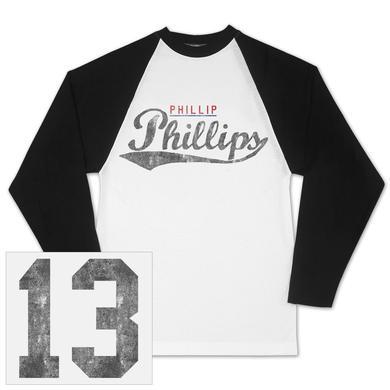 Phillip Phillips Vintage Baseball Raglan