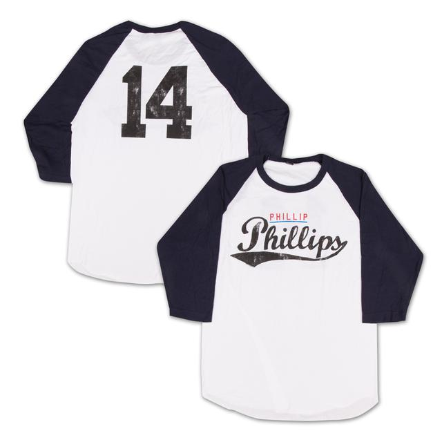 Phillip Phillips 2014 Baseball Raglan