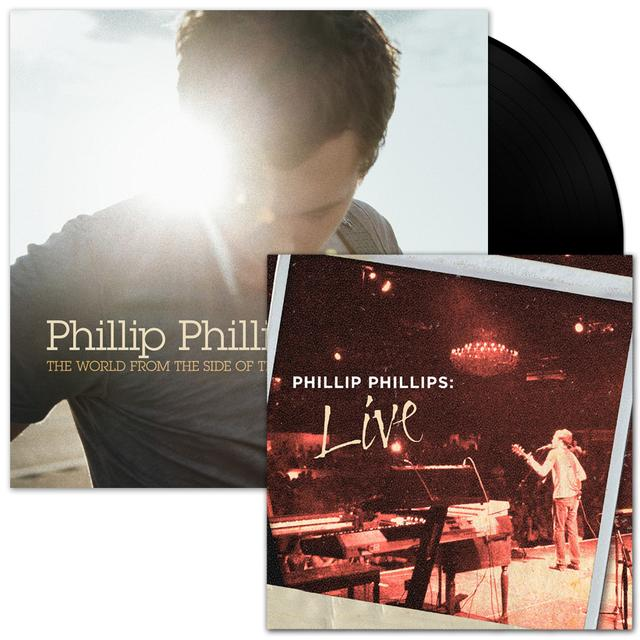 Phillip Phillips Signed Vinyl/Digital EP Bundle