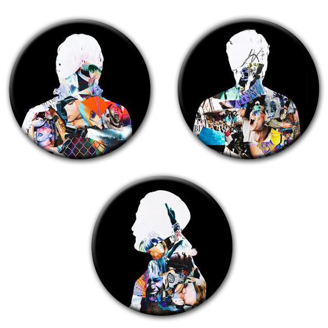 Swedish House Mafia SHM Leave The World Behind Button Set