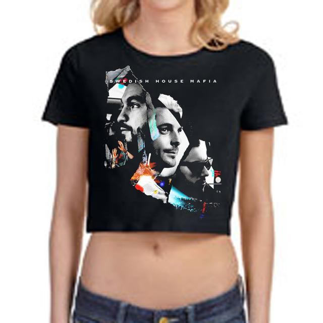 Swedish House Mafia SHM Leave The World Behind Girls Crop Top