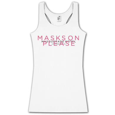 Swedish House Mafia Ladies Masks On Racerback Vest
