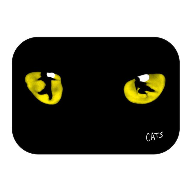 Really Useful Group Cats Eyes Fridge Magnet