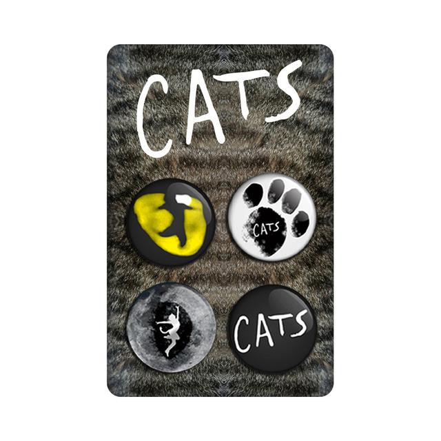 Really Useful Group Cats UK Tour Badge Set