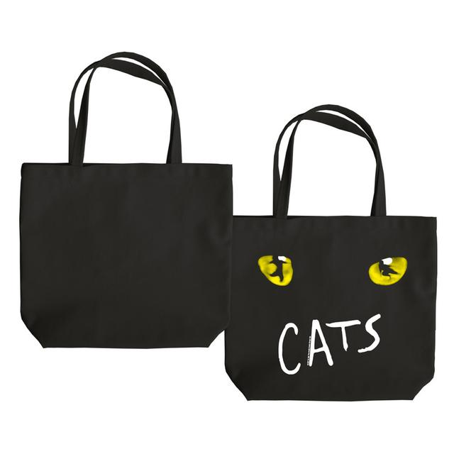 Really Useful Group Cats Eyes Black Tote Bag