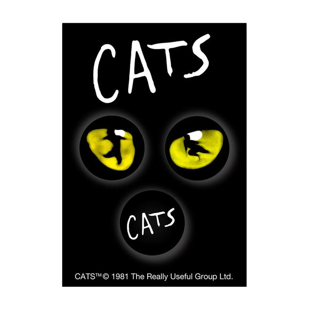 Really Useful Group Cats 3 Badge Set