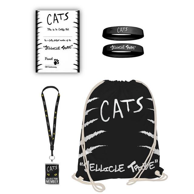 Really Useful Group Cats Drawstring Goodie Bag