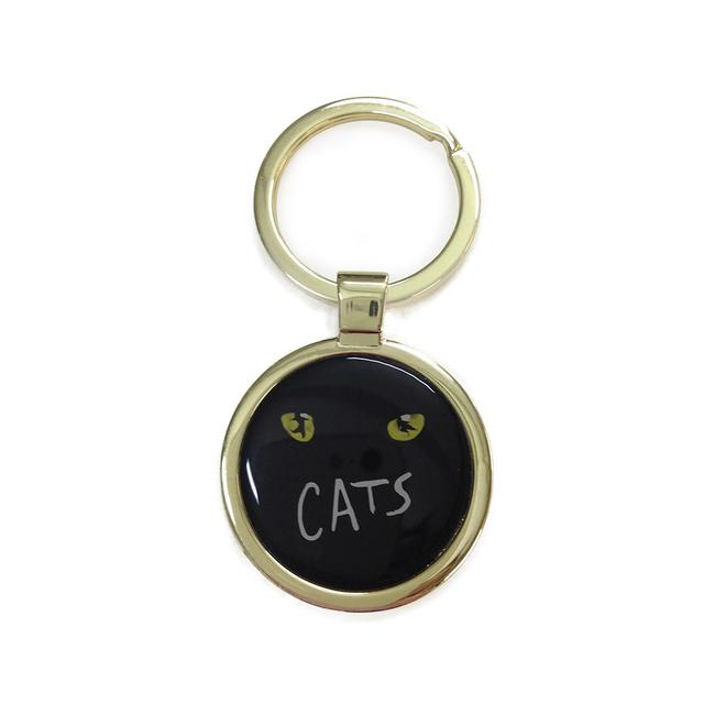 Really Useful Group Cats Metal Keyring