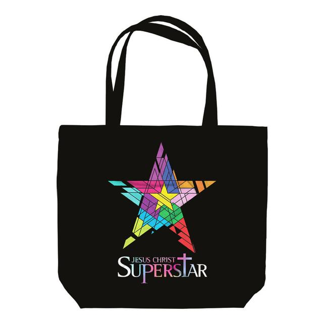 Really Useful Group Jesus Christ Superstar Logo Black Tote Bag