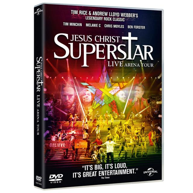 Really Useful Group Jesus Christ Superstar Arena Tour DVD