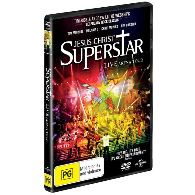 Really Useful Group Oorder Jesus Christ Superstar Arena Tour DVD