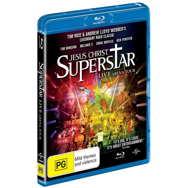 Really Useful Group Order Jesus Christ Superstar Arena Tour BluRay