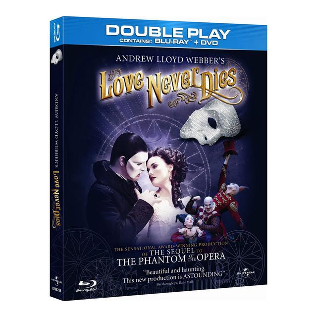 Really Useful Group Love Never Dies BluRay
