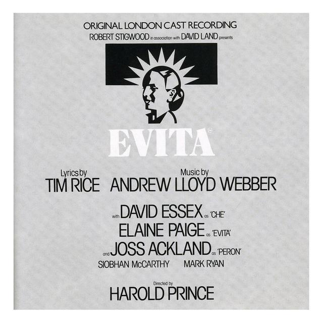 Really Useful Group Evita Original London Cast CD