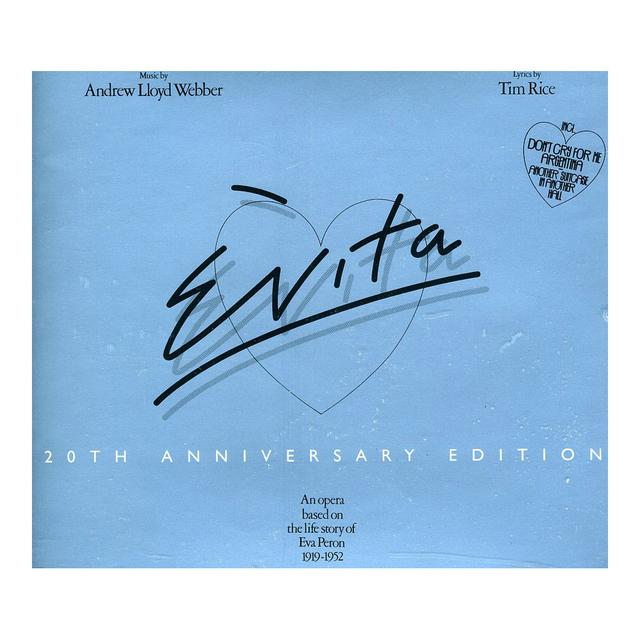 Really Useful Group Evita 20th Anniversary Edition CD