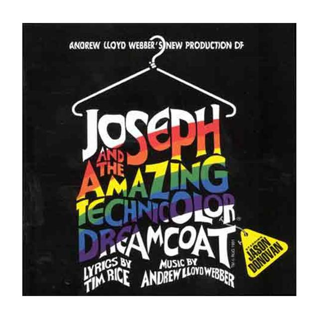 Really Useful Group Joseph Cast Recording CD starring Jason Donovan