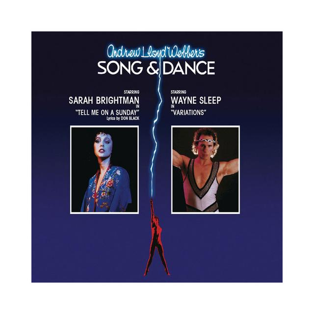 Really Useful Group Song & Dance Cast CD featuring Sarah Brightman