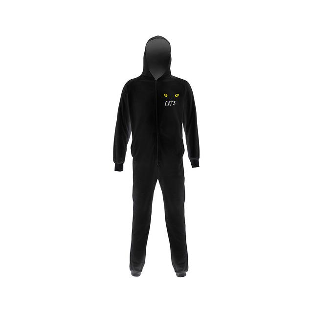 Really Useful Group Cats Youth Black Onesie