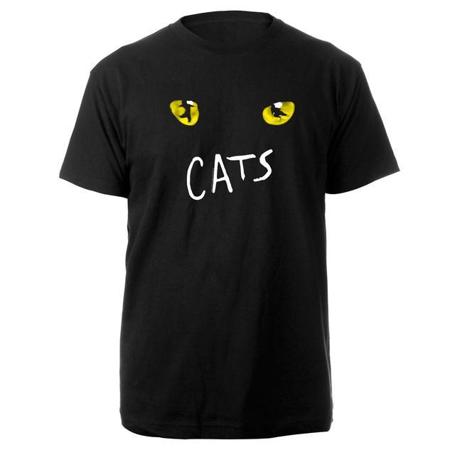 Really Useful Group Cats Eyes Black UK Tour T-shirt