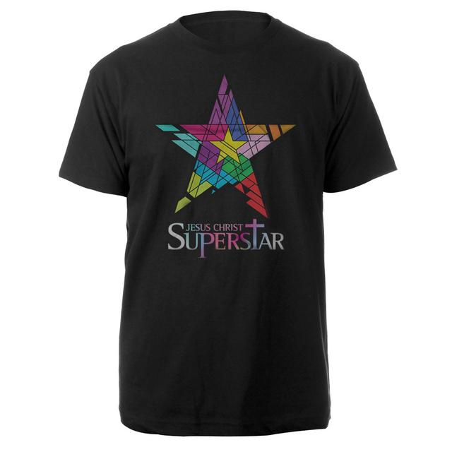 Really Useful Group Jesus Christ Superstar Logo Black T-shirt